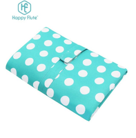 Happy Flute Waterproof Portable Baby Diaper Changing Mat Nappy Changing Pad Travel Changing Station