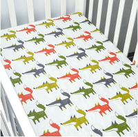 HappyFlute 70*130cm Baby blanket Bed Crib Sheet Mattres Cover Animal Home Textile Bed Sheets Covers
